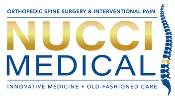 Nucci Medical- Tampa Bay's Premiere Spine and orthopedic surgeons.
